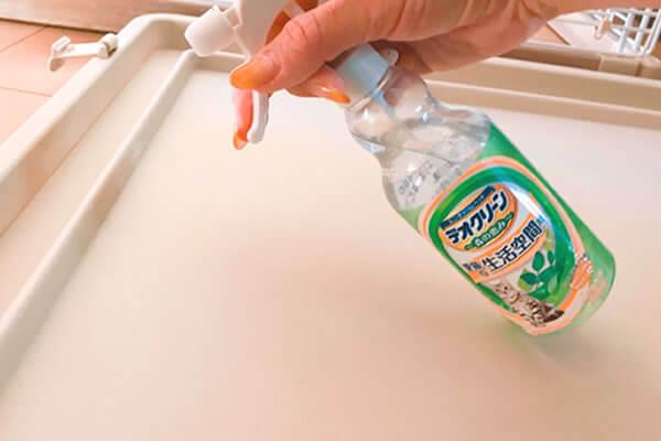 猫 ケージ 掃除