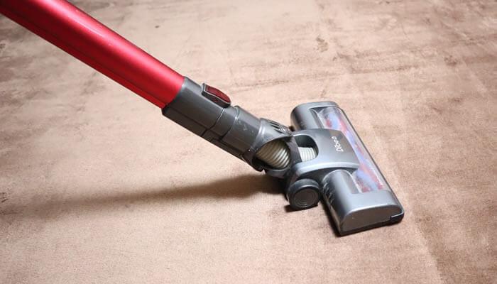 掃除機しやすい毛の短いカーペット