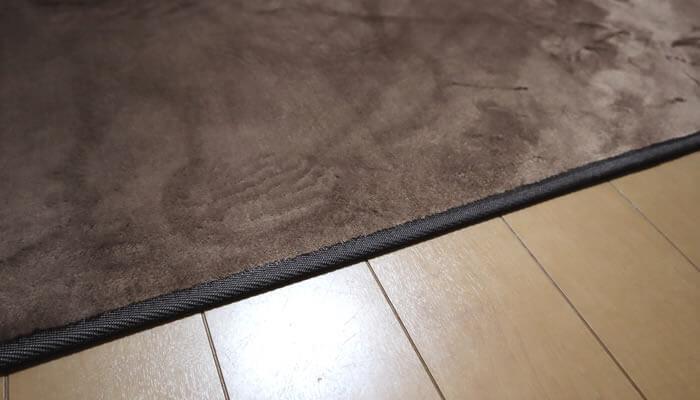 猫アレルギー対策でカーペットを敷かない