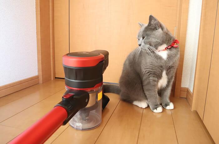 猫アレルギー対策におすすめの掃除機