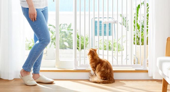 猫アレルギー対策グッズ 猫の柵