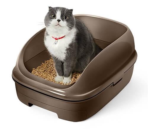 猫アレルギー対策グッズ システムトイレ