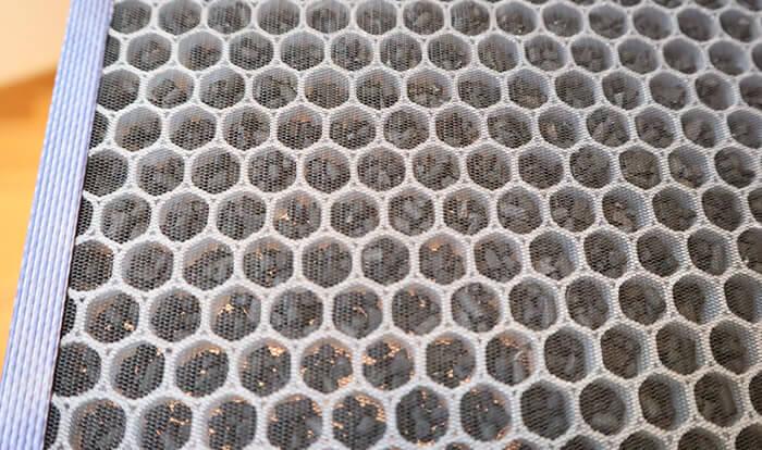 シャープ空気清浄機の脱臭フィルター